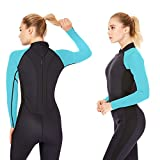 Dark Lightning Premium CR Neoprene Wetsuit, Women and Mens...