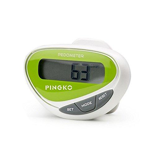 PINGKO Mini LCD Display Step Distance Calorie Counter Walking Motion Fitness Tracker Sports Multifuctional Pedometer - (Mini Pedometer)