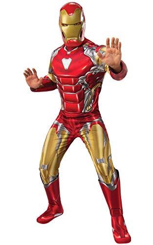 Rubie's Marvel: Avengers Endgame Adult Deluxe Iron Man Costume & Mask, Standard