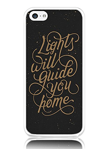 Hard Back Case Cover Shell for iPhone 5C Encouraging Words (I Phone 5c Soccer Quotes)