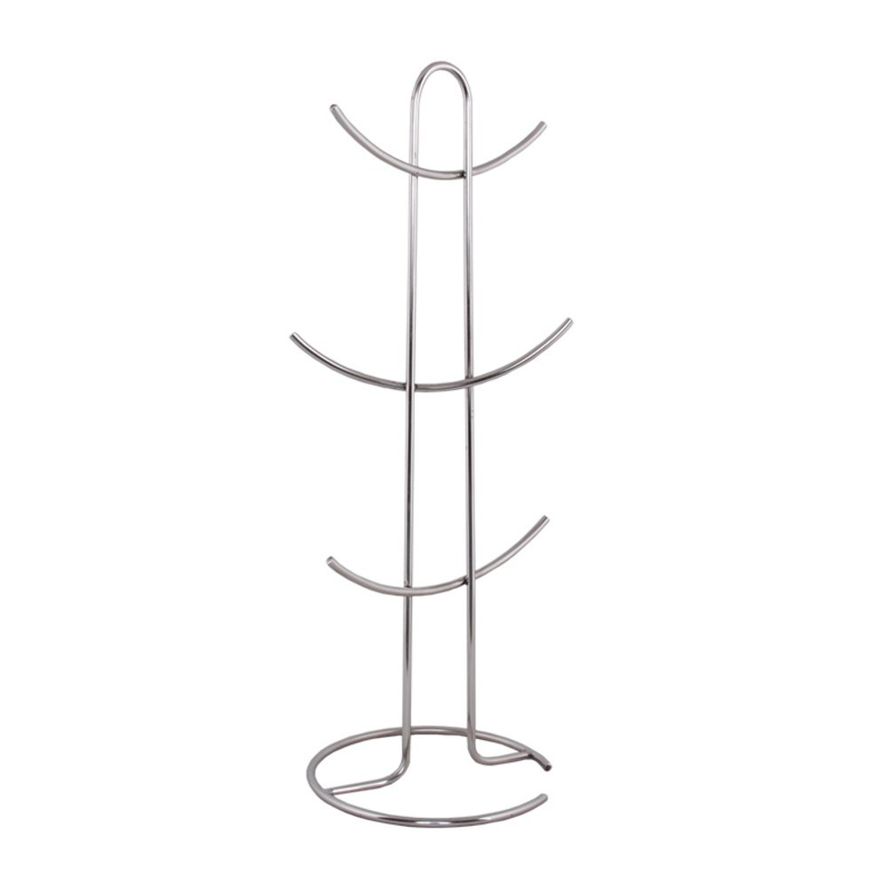 HUIYUE Mug Holder,Stainless Steel Cup Holder,Display Stand Coffee Cup Holder Tree Shaped Holder Hold and Dry-A 30x50cm(12x20inch)