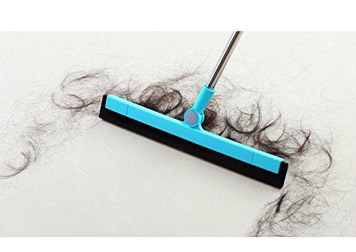 Floor Squeegee Wiper Window Squeegee Cleaner Blade Water Wiper Glass Sweep Brush for Bathroom Wet Room Floor Pet Hair Window Cleaning by Ying (Image #7)