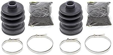 4013 for Front Inner Kawasaki Mule 2510 4x4 00 All Balls 19-5004 CV Boot Kit
