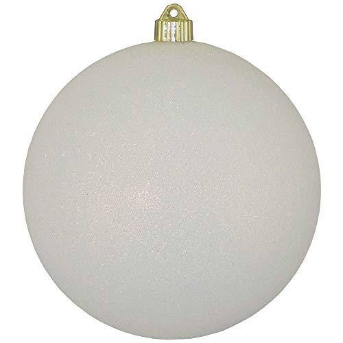 (Christmas By Krebs Jumbo Commercial Shatterproof UV Resistant Plastic Christmas Ball Ornament Wedding Party Holiday Decor, 8