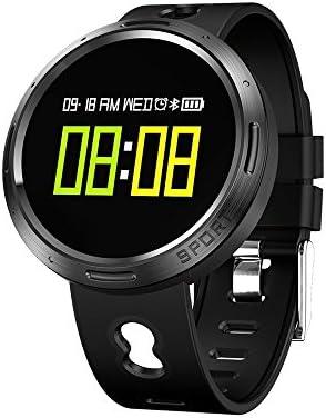 PowerLead Reloj Inteligente Fitness Tracker, X9-V0 con Pulsómetro ...