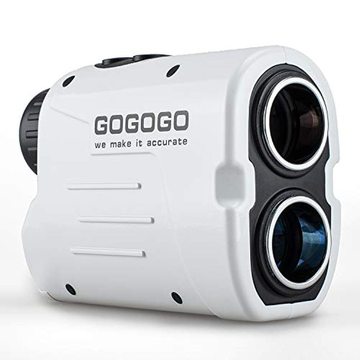 [해외] 휴대형 레이저 거리계 RANGEFINDER 골프 스코프 광학6배 망원 골프용 경량 속도 측정 연속 측정 궤도 보정 각도 데이터 조작 건단 수렵 트레일 스포츠 경기 등산 측량 탐사 등도 대응 화이트