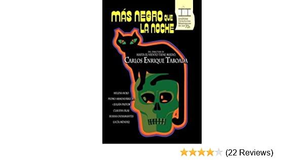 Amazon.com: Mas Negro Que La Noche (Blacker Than the Night) [NTSC/REGION 1 & 4 DVD. Import-Latin America]: Susana Dosamentes, Claudia Islas, Helena Rojo, ...
