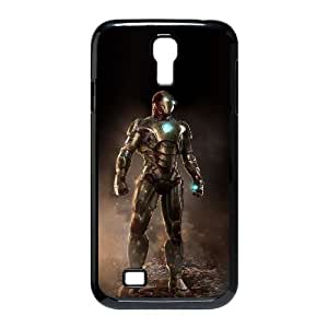 Ironman-011 For samsung s4 9500 Cell Phone Case Black Protective Cover xin2jy-4325695