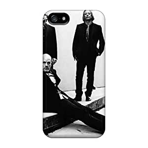 Shock Absorption Hard Phone Cover For Iphone 5/5s (OrF5118dUZX) Unique Design Lifelike Red Hot Chili Peppers Pattern
