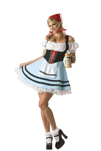 Oktoberfest Girl Adult Costume - (Children's Book Costume Ideas For Adults)