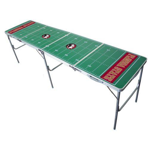 Wild Sports Florida State Seminoles 2x8 Tailgate Table (Table State Florida Game)