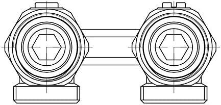 Collecteur pour radiateur Sortie mur Eur/ôcone