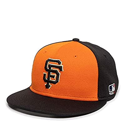 San Francisco Giants Alternate 2-Tone MLB Mesh Replica Adjustable Baseball Cap Hat (Youth 6 3/8 to 7 Ages 6 to 12 Years)