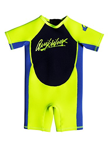 be2b2520fc Quiksilver Baby Boys 1.5Mm Syncro - Short Sleeve Back Zip Springsuit For  Toddlers Short Sleeve Back Zip Springsuit