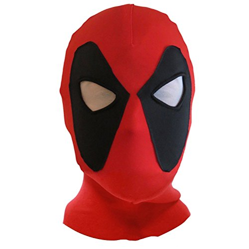 KELAND Deadpool Mask Lycra Spandex Headwear Hood Costume Halloween Cosplay...