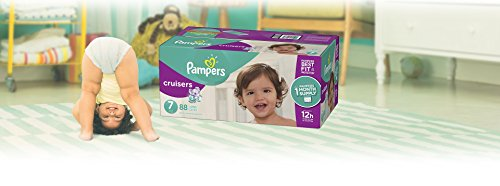 Large Product Image of Pampers Cruisers Disposable Diapers Size 7, 88 Count