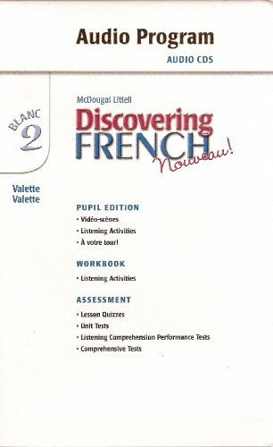 Discovering French, Nouveau!: Audio CD Program Level 2