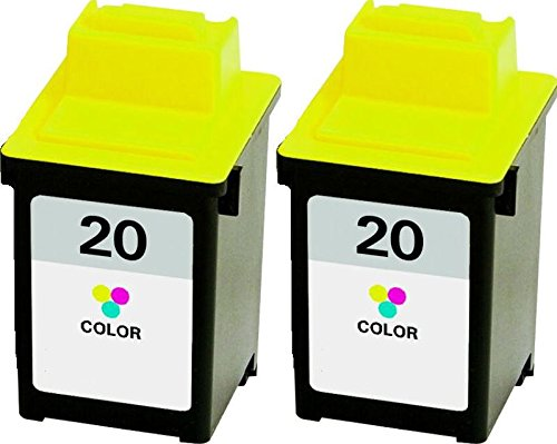 Axiom Remanufactured Lexmark 15M0120 #20 Color Ink Cartridge For Lexmark X63 X73 X83 X84 X85 X125 X4200 X4250 X4270