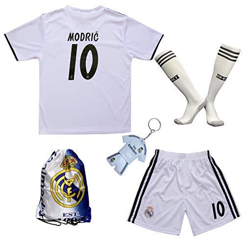 9fd020321 GamesDur 2018 2019 Real Madrid Luka Modric  10 Home Football Soccer Kids  Jersey