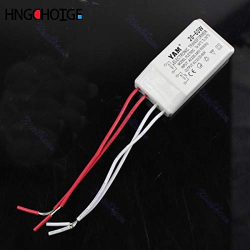 Ants-Store - 40W 12V Halogen LED Light Lamp Electronic Transformer Power Supply Driver Adapter