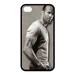 Custom Jason Statham Back Cover Case for iphone 4,4S JN4S-1265