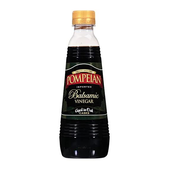 Pompeian Vinegar 1 Cultivated from grapes grown in the U.S. and Spain Pairs perfectly with Pompeian's farmer-crafted olive oils Ideal for salad dressings, marinades and vegetables as a finishing drizzle
