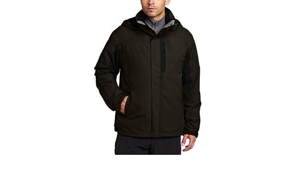 White Sierra hombres de todas las estaciones 4 en 1 chaqueta, hombre, Breen, XL: Amazon.es: Deportes y aire libre