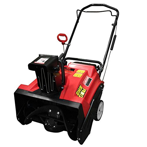 Warrior Tools WR67436 Gas Powered Single Stage Snow Thrower, 20-Inch, Red (20 Gas Snow Blower compare prices)