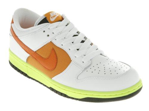 Nike Air Max Lunar1 Jcrd Mens Scarpe Da Corsa 181-bianco / Arancio Blaze-shck Arancione.
