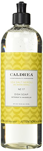 Caldrea Dish Soap, Sea Salt Neroli, 16 oz