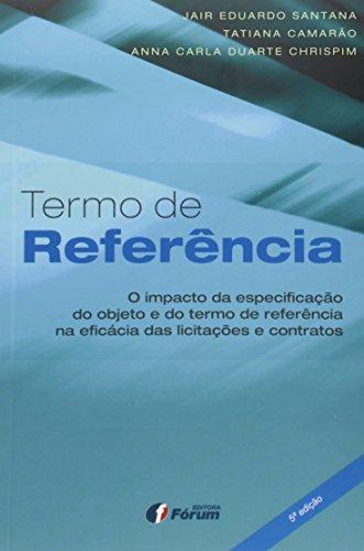 Termo de Referência - Volume 1