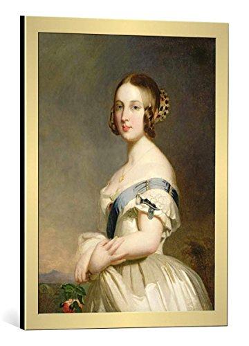 kunst für alle Framed Art Print: Franz Xavier Winterhalter Queen Victoria 1819-1901