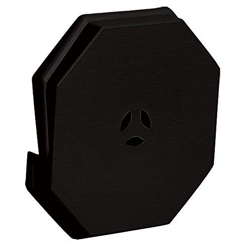 Builders Edge 130110006002 Surface Block, Black