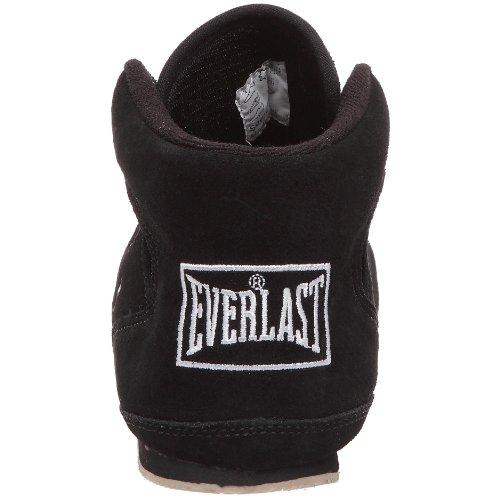 Everlast 8000B38 - Botas de Boxeo Bajas Unisex, Color Negro, Talla 38