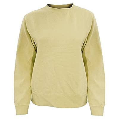 Comfort Colours Womens/Ladies Crew Neck Sweatshirt at Women's Clothing store