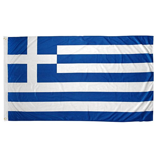 Greece 3' x 5' Flag Size One Size