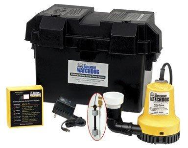 Basement Watchdog BWE 1000 Gallons Per Hour Basement Watchdog Emergency Back-Up Sump Pump by Basement Watchdog