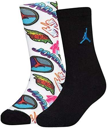 キッズ/ジュニア Sticker Crew Socks 靴下 クルーソックス2足セット [並行輸入品]
