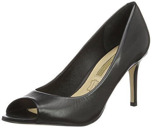 Zs London 16 Black 7155 Semi Noir Escarpins 01 Buffalo Femme Cromo BqPUw5