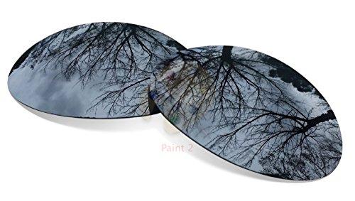 Polarized Black Iridium Replacement Lenses For Oakley Eye Jacket - Oakley Jacket Lenses Replacement Eye 1.0