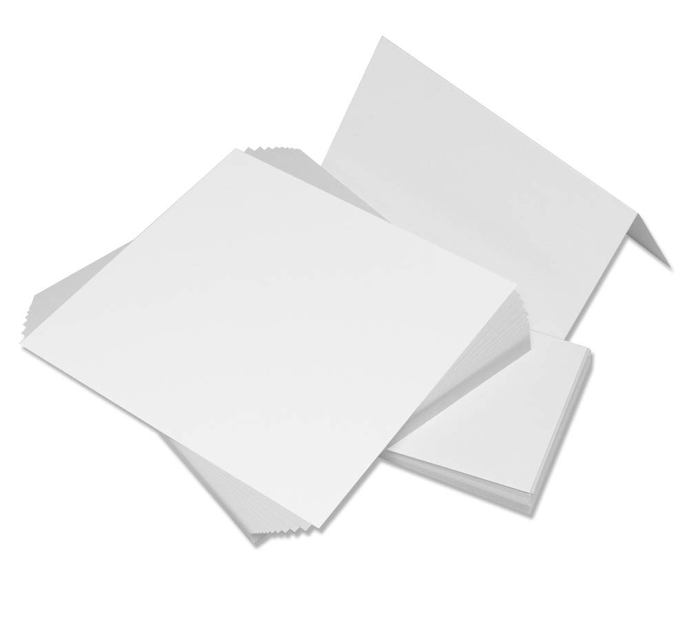 Craft UK 275 C6 Card and Envelope pack of 50 - Ivory 382 275