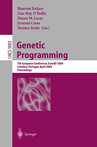 Download Genetic Programming: 7th European Conference, EuroGP 2004, Coimbra, Portugal, April 5-7, 2004, Proceedings (Lecture Notes in Computer Science) PDF