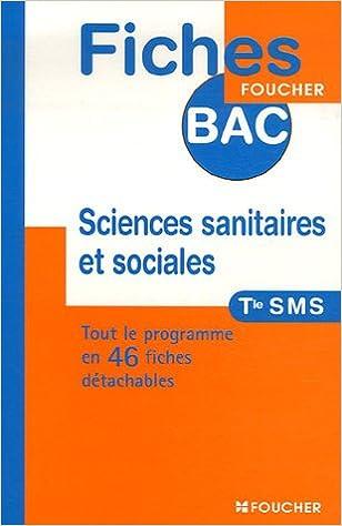 SCIENCES SANIT SOCIALES TERM SMS (Ancienne édition) pdf, epub