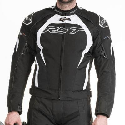 Price comparison product image RST Tractech Evo II 1397 Armoured Textile Sports Motorcycle Jacket - White 2XL