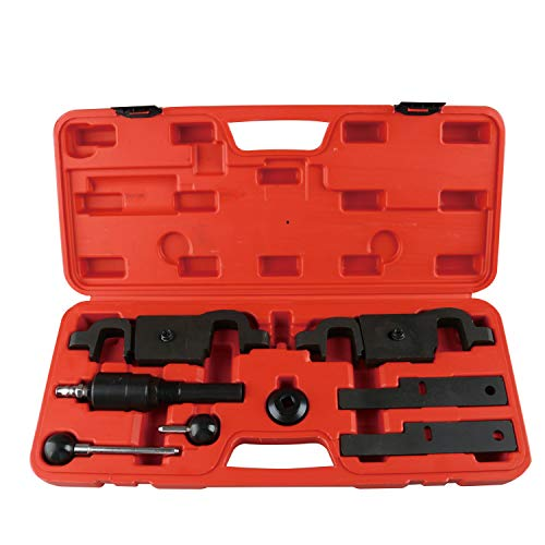 - FreeTec Cam Camshaft Timing Tool Repair and Replacement Set Compatible with Porsche Cayenne Panamera Engine V8 4.5L 4.8L V6 3.6L and Audi Q7 9678, 9595