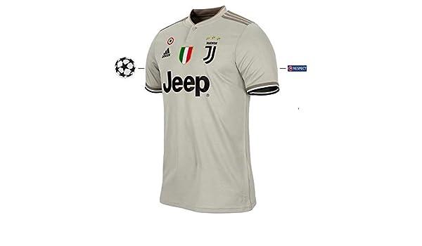 Juventus Turin 2018-2019 Away UCL - Camiseta de fútbol para niño ...