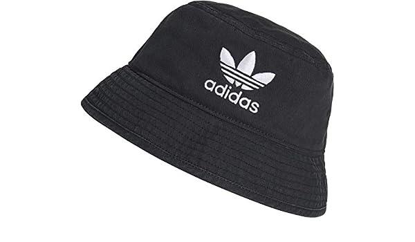 81621b7f05775 adidas Originals Bucket Hat Ac Hat One Size Black White at Amazon Men s  Clothing store