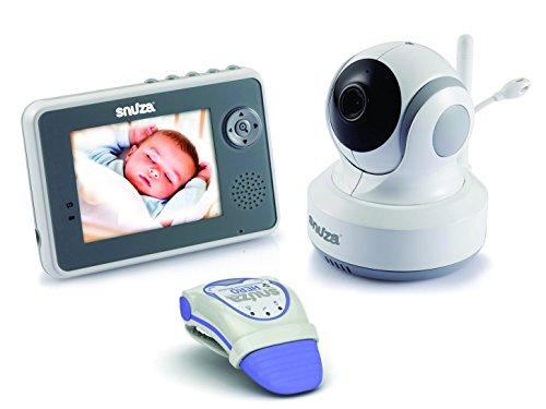 snuza 01snuza003 trio plus baby monitor system movement tracking for sale. Black Bedroom Furniture Sets. Home Design Ideas