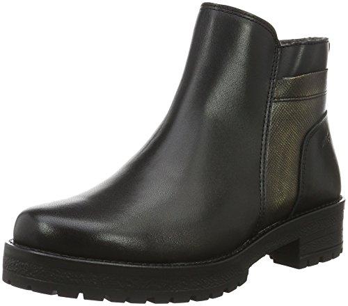 para Mujer Black Shoes 00073 Marc Botines combi Negro Schwarz Melissa OIwUIxta