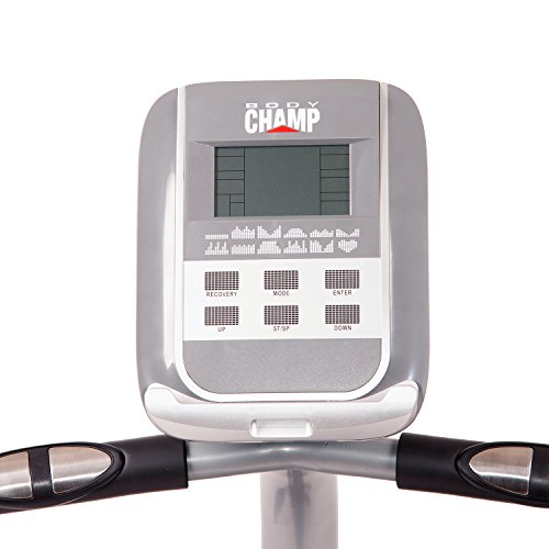 Body Champ Magnetic Recumbent Bike, black/Silver
